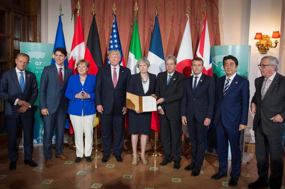 What's the G7, what countries are members, what does the group do and how often does it meet?