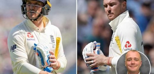 The Ashes: Jason Roy's 'brainless' dismissal to Nathan Lyon was worst shot ever played by an England batsman – The Sun