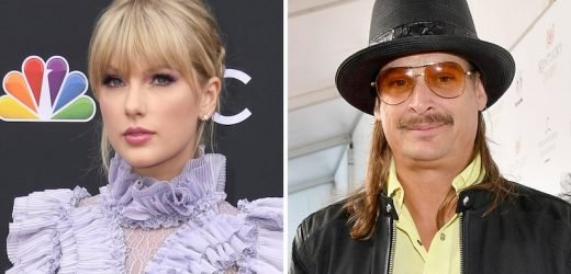 Kid Rock Takes Vile Swipe at Taylor Swift for Siding With Democrats