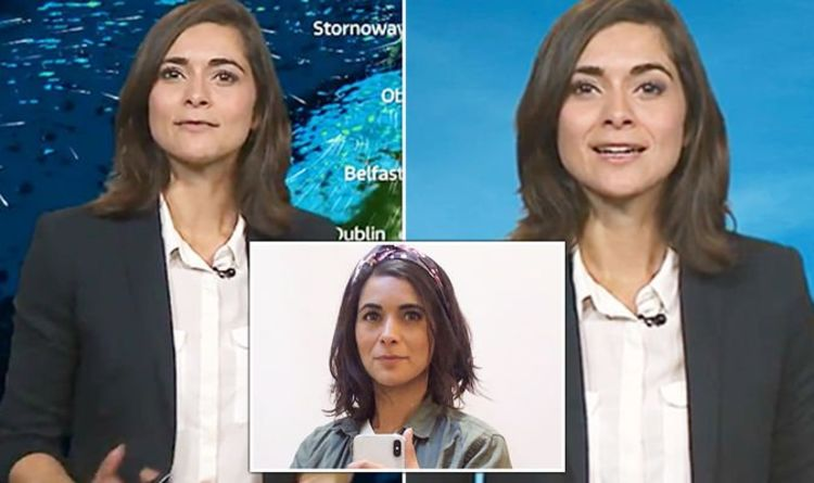 Lucy Verasamy: ITV weather star shares rare 'unkempt hair' snap hours after new forecast