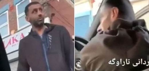 Bungling would-be car thief unaware he is being filmed from back seat