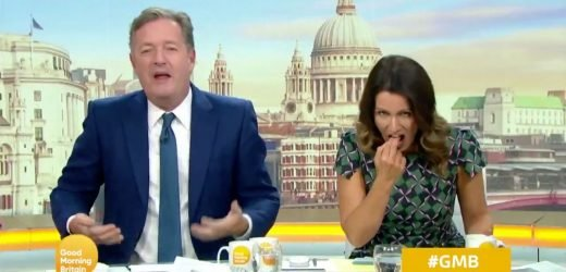 Piers Morgan and Susanna Reid reveal secret feud on GMB