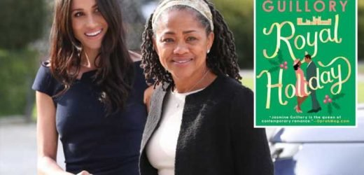 Meghan Markle's mum Doria Ragland has inspired a new saucy novel called Royal Holiday – and she has 'affair with Queen's private secretary' – The Sun