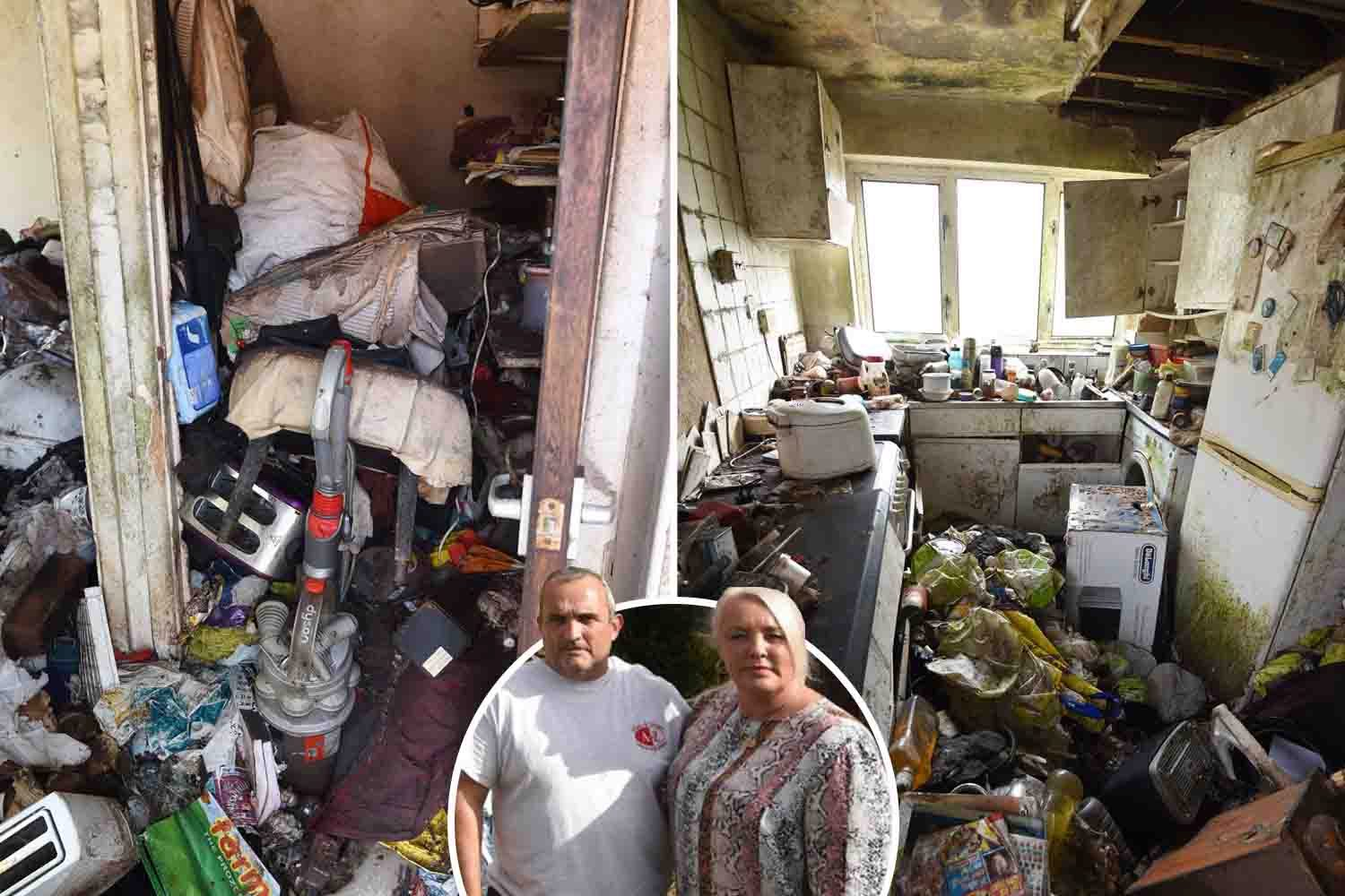 Neighbours' horror at living next to rat-infested hoarder house for 20 years