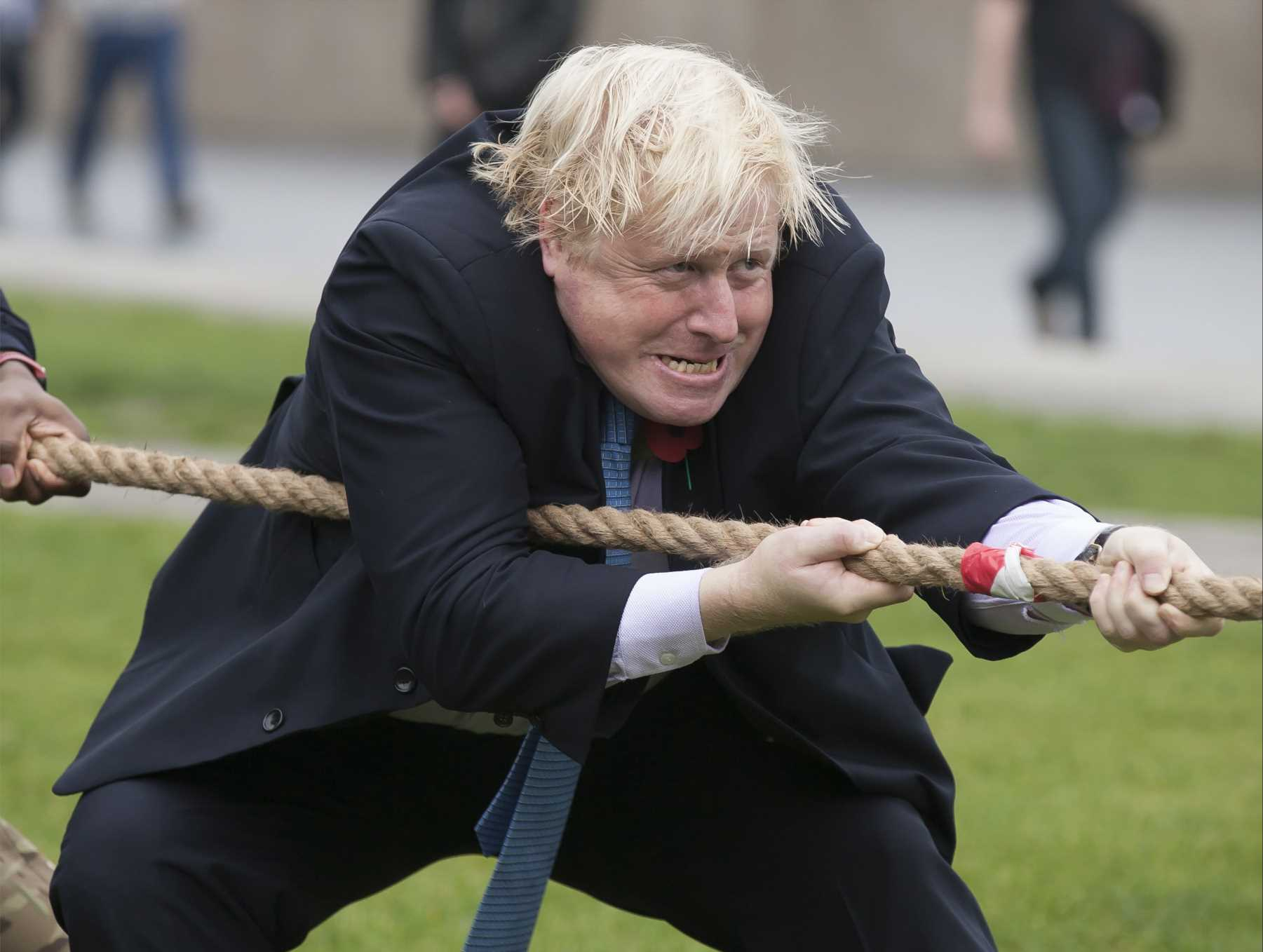 Boris Johnson's favourite pastime is to play tug-of-war over his swimming pool, George Osborne reveals – The Sun
