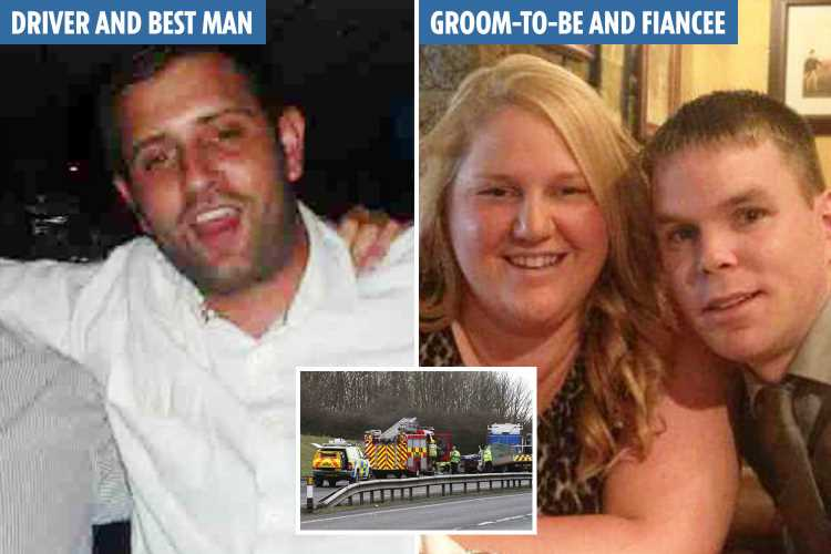 Sleep-deprived best man killed groom in crash after working 47 hours in 3 days