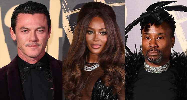 Luke Evans, Billy Porter, & More Step Out for Naomi Campbell's Fashion for Relief 2019!