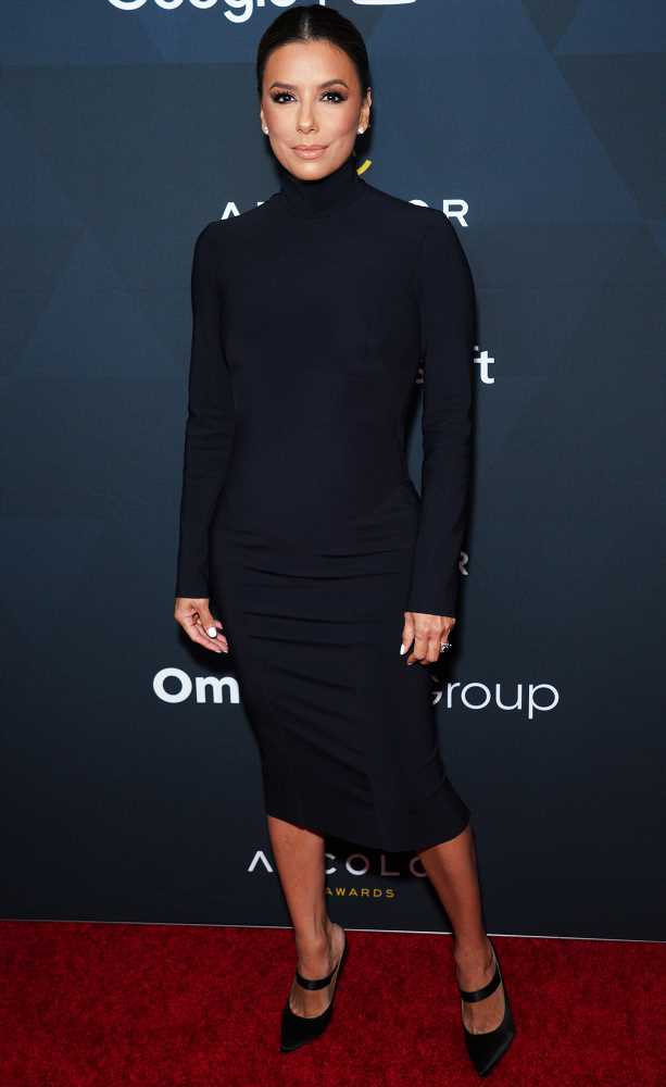 Eva Longoria's Turtleneck Midi Dress — Plus More Can't-Miss Celeb Outfits