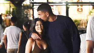 Kourtney Kardashian & Younes Bendjima: The Truth About Whether They're Back Together After Holding Hands