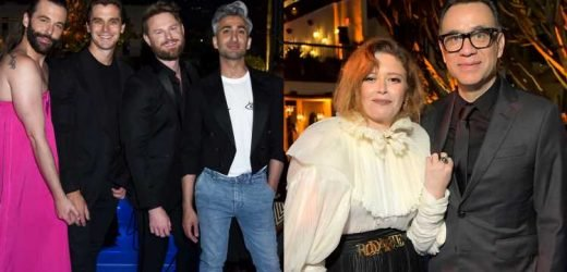 'Queer Eye' Cast, Natasha Lyonne & More Celebrate Emmy Wins at Netflix After Party!