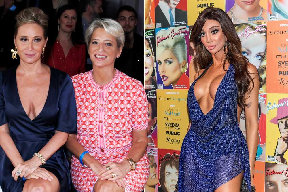 Sonja Morgan and Dorinda Medley make offensive comments about trans model