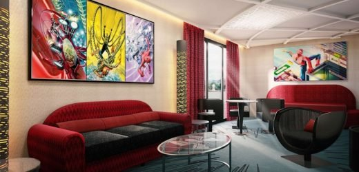 Take a sneak peek inside the Marvel hotel coming to Disneyland Paris
