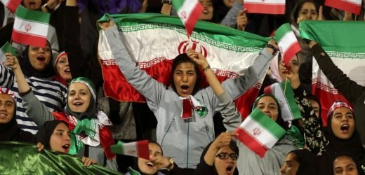 FIFA boss hopeful Iran will lift ban on women soccer fans