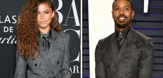 Zendaya wore the same suit as Michael B. Jordan and he knows who wore it best