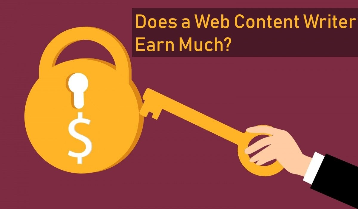 Does aWeb Content Writer Earn Much?