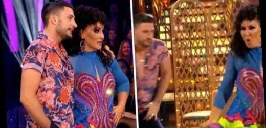 Strictly Come Dancing 2019: Michelle Visageleft shaken after banging her head in Salsa