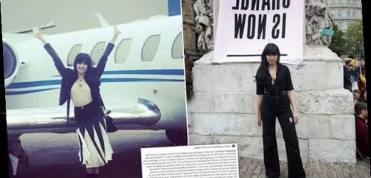 Daisy Lowe admits being a 'hypocrite' for flying on private jets