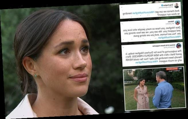 #WeLoveYouMeghan: Outpouring of support for Duchess of Sussex