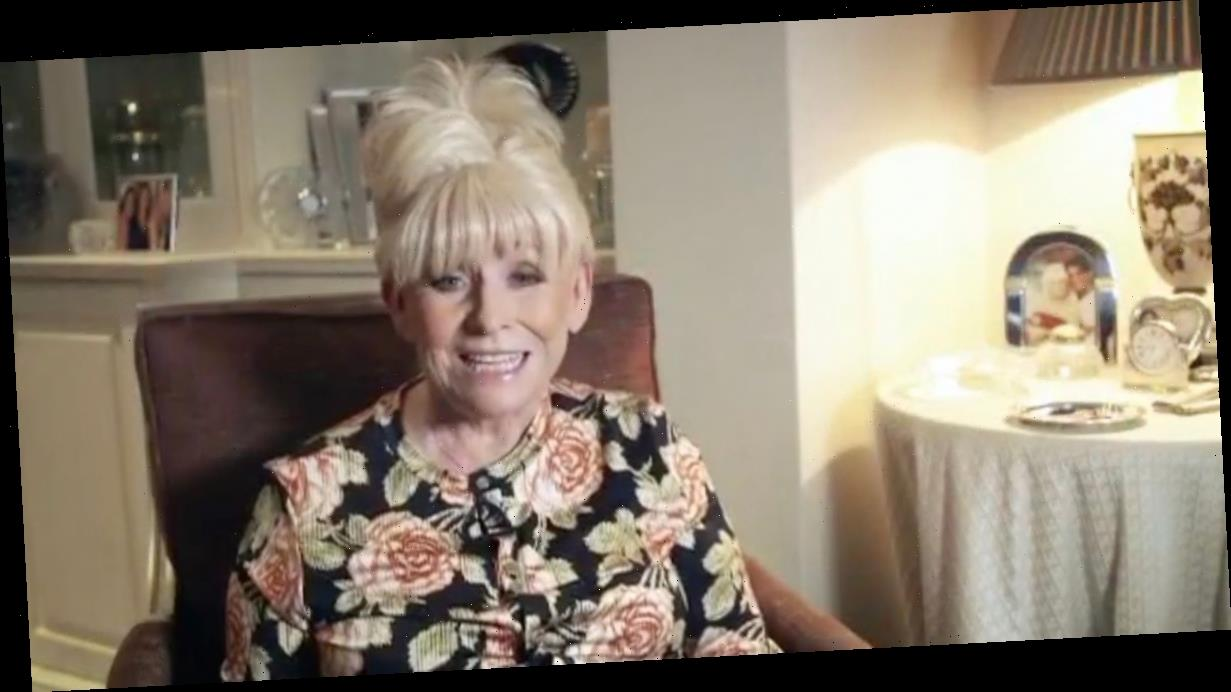 Barbara Windsor makes rare public appearance to wish pal Chris Evans good luck