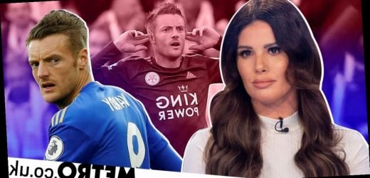 Jamie Vardy mocked by football fans over wife Rebekah's row with Coleen Rooney