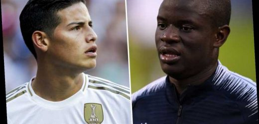 Real to offer Chelsea £86m plus Rodriguez for Kante in huge transfer deal after missing out on Pogba – The Sun