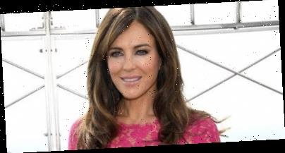 Elizabeth Hurley Gets Her Exercise From 'Using My Chainsaw To Cut Down A Tree'