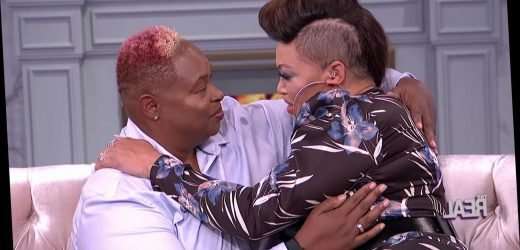 Tisha Campbell meets her long-lost half-sister on The Real
